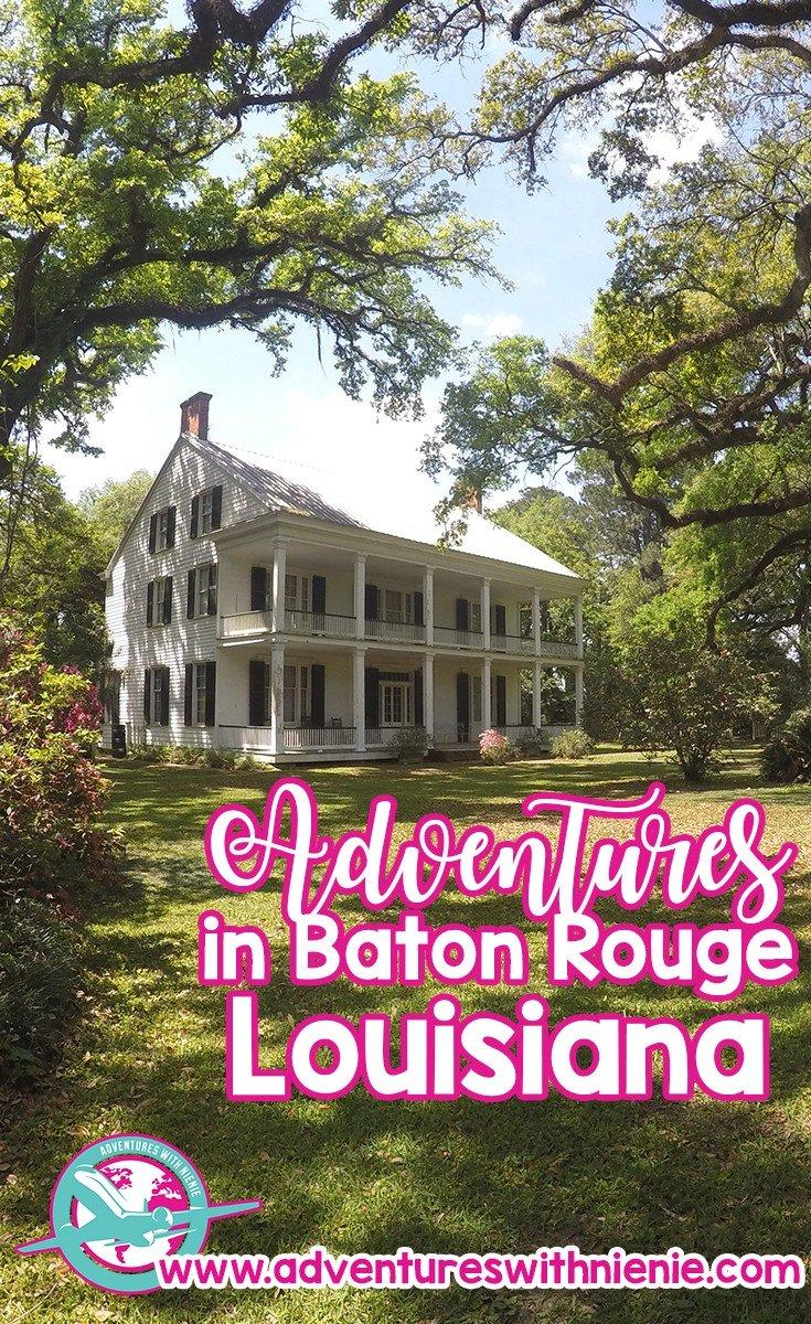 Adventures in Baton Rouge, Louisiana
