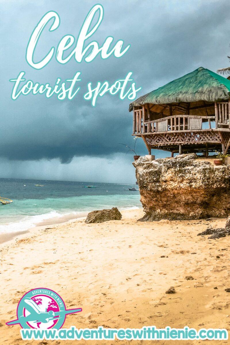 Cebu Tourist Spots Pinterest Cover Photo