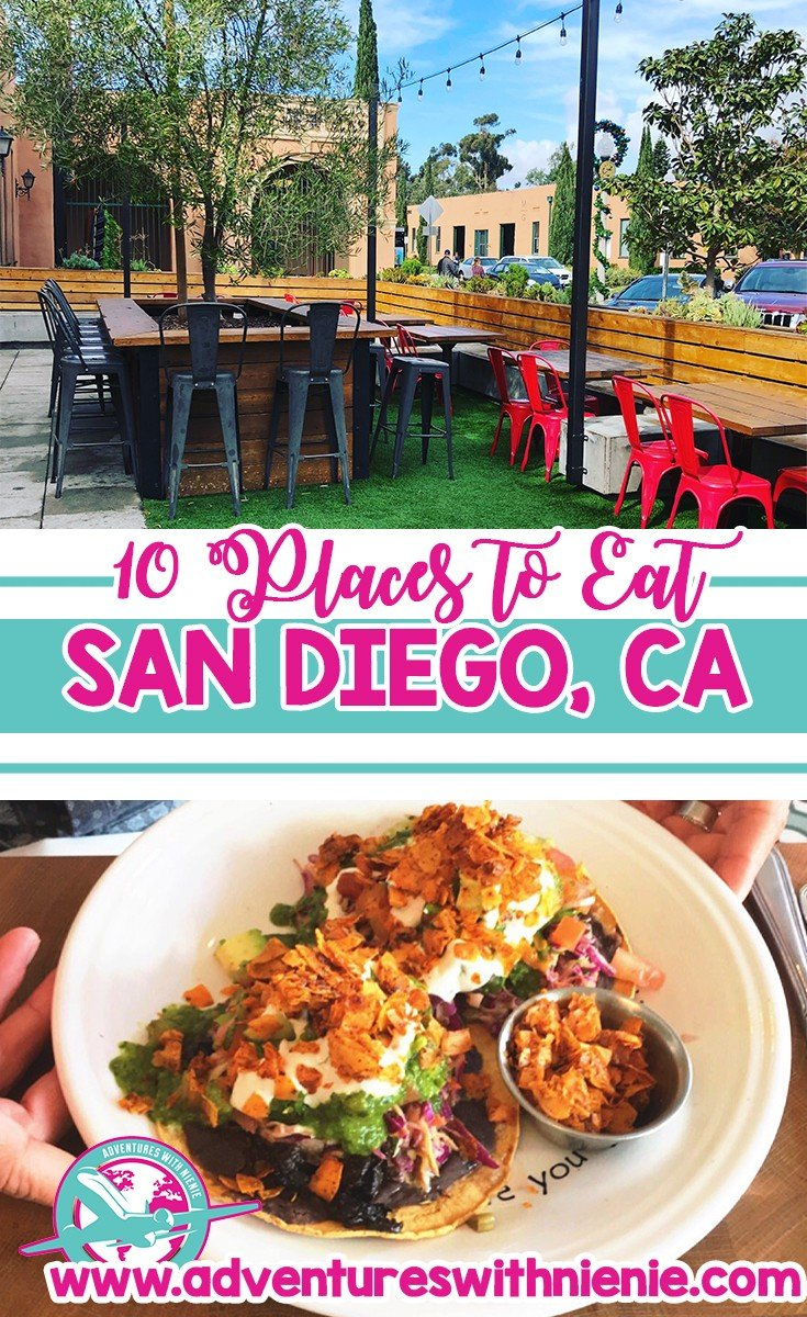 Places to Eat in San Diego, CA