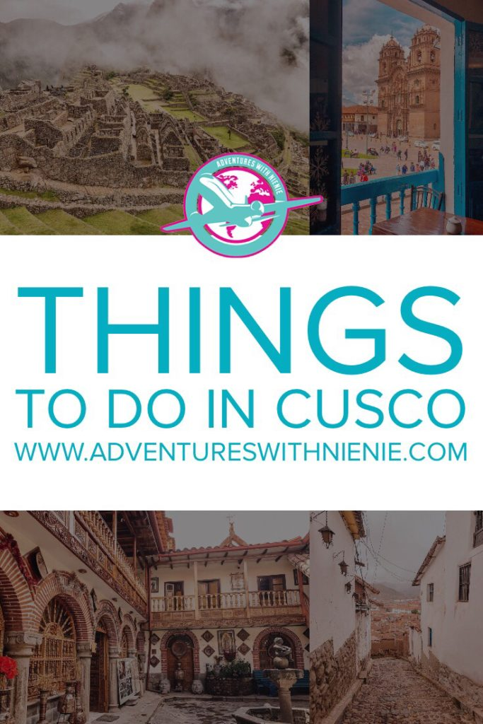Things to do in Cusco Pinterest Cover