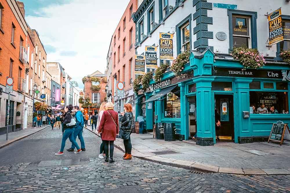 Image of Dublins Cobblestone Streets