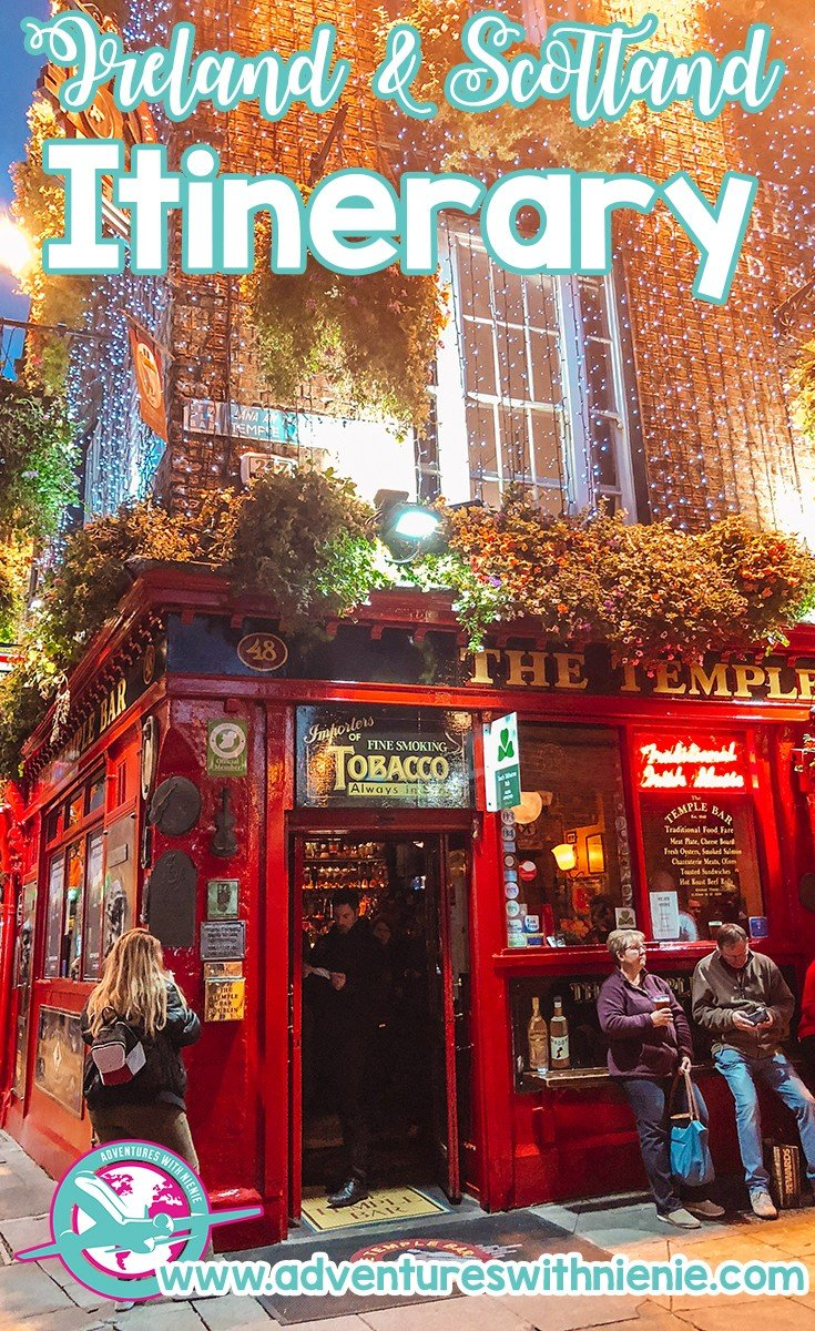 Ireland and Scotland Itinerary