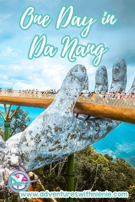 One Day in Da Nang Pinterest Cover