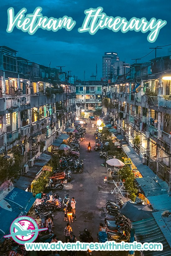 10 Days in Vietnam Pinterest Cover