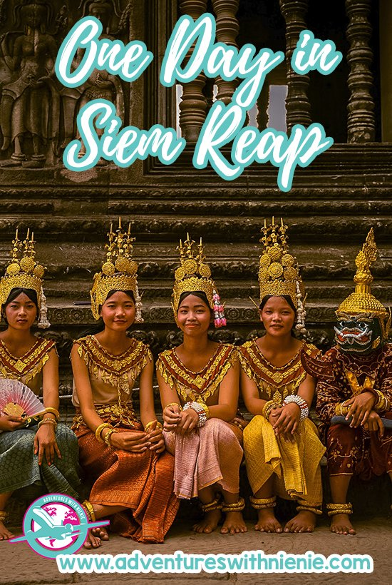 One day in Siem Reap Pinterest Cover