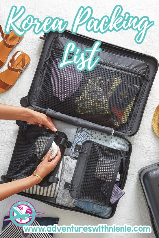 Korea Packing List | For Tourists and Long Term