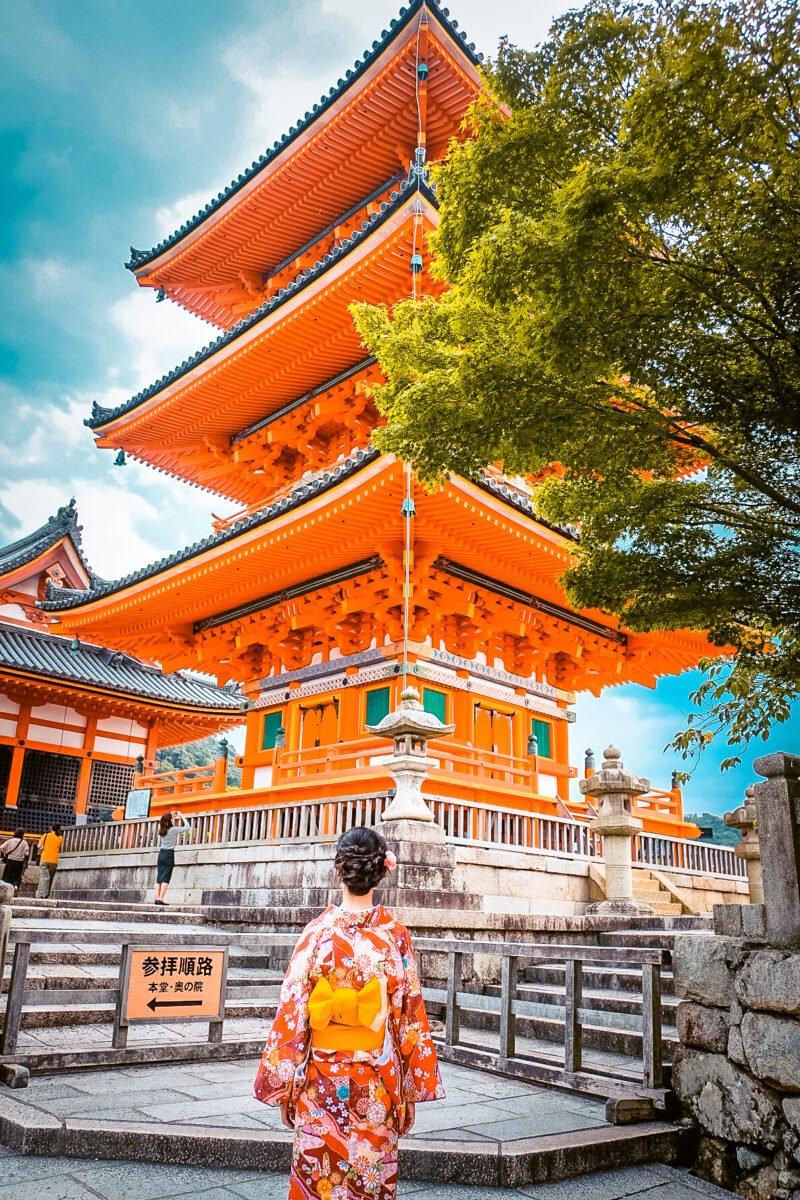 Kyoto or Osaka
