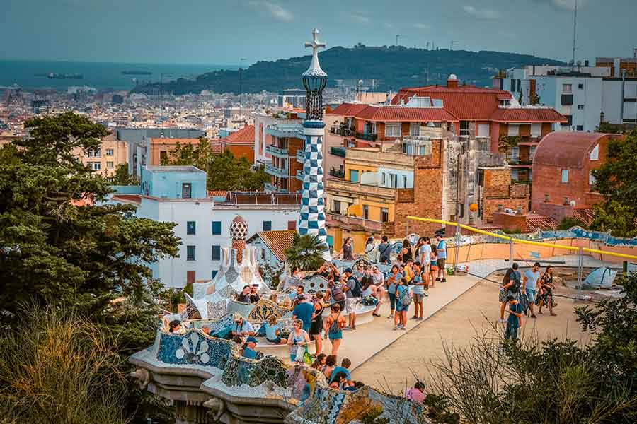 Park Guell | Spain in August