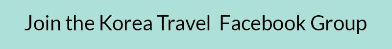 South Korea Travel Facebook Group Link Button